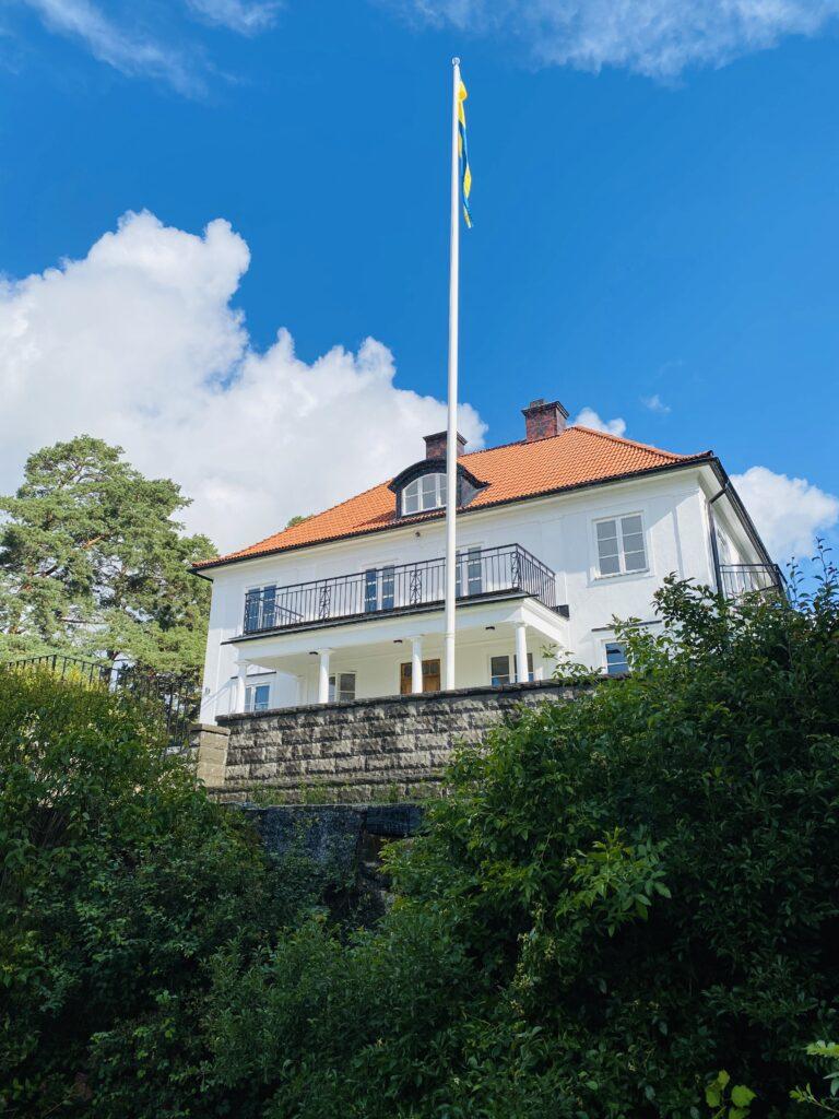 Villa Skoga från framsidan